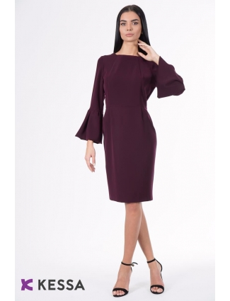 ROCHIE ALL DAY LONG CU MANECA AMPLA BORDEAUX