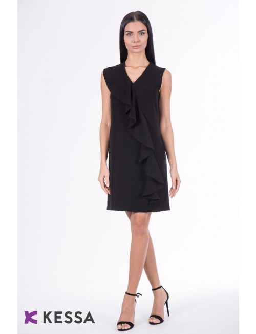 ROCHIE ALL DAY LONG NEAGRA CU VOLAN