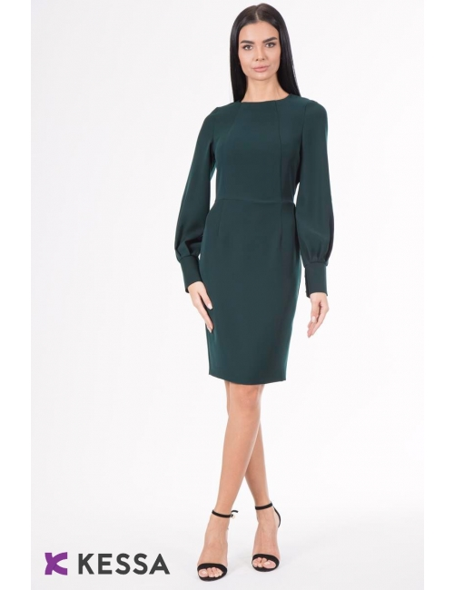 ROCHIE ALL DAY LONG DARK GREEN CU MANSETA LATA